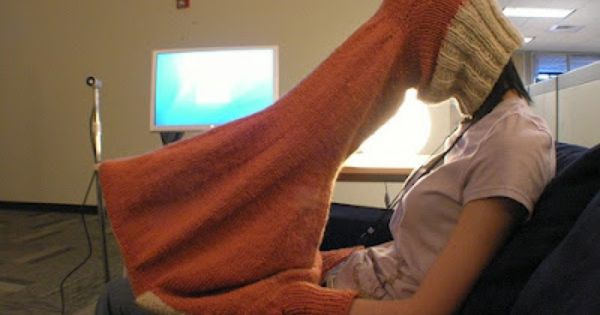 "laptop privacy sweater ...hysterical. ""Laptop Compubody Sock for privacy, warmth, and concentration"