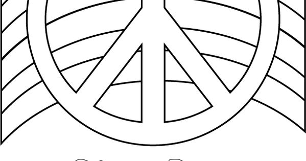 Peace Coloring Pages For Girls To Print Click To