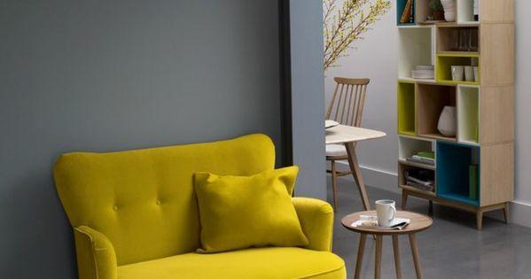 40 id es en photos pour comment choisir le fauteuil de for Canape jaune ikea