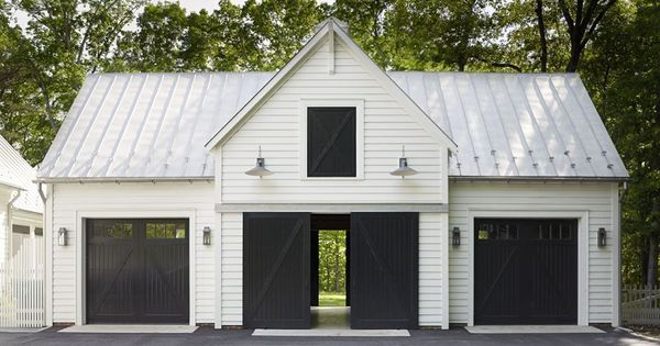 40 Best Detached Garage Model For Your Wonderful House Detached Garage House Model Wonderful In 2020 Garage Door Design Farmhouse Garage Garage Design