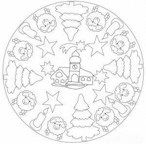Mandala 602 Christmas Designs 3d Coloring Book Dover Publications Mandala Coloring Pages Christmas Coloring Pages Coloring Books