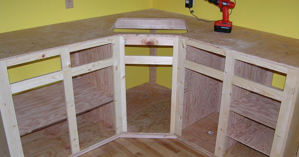 kuchenschranke diy : How to build kitchen cabinet frame. Kitchen Reno Pinterest ...