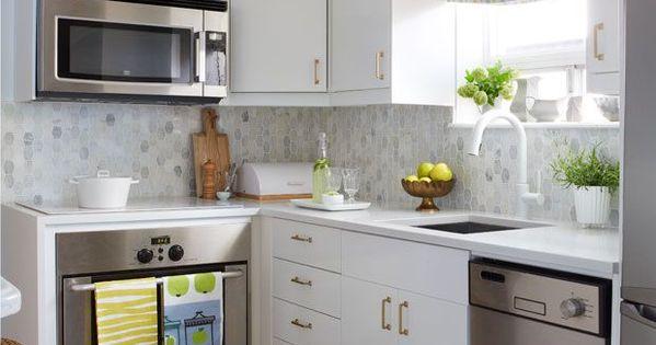 50 Desain Kitchen Set Untuk Dapur Kecil Dapur Jadi Salah Satu Ruangan Tersibuk Yang Ada Di Dalam Rumah Sumber Dapur Kecil Ide Dapur Makeover Dapur