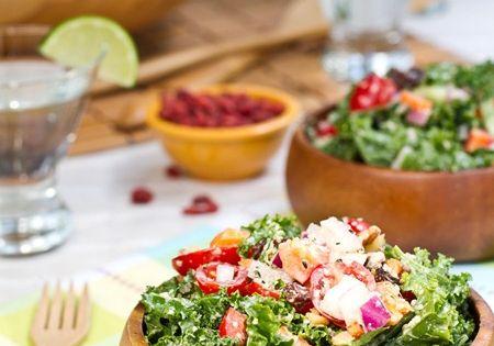 Kale salads, Kale and Glow on Pinterest
