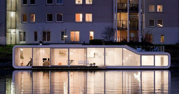+31 ARCHITECTS - Watervilla de Omval | Inspired Architecture - Floating Homes