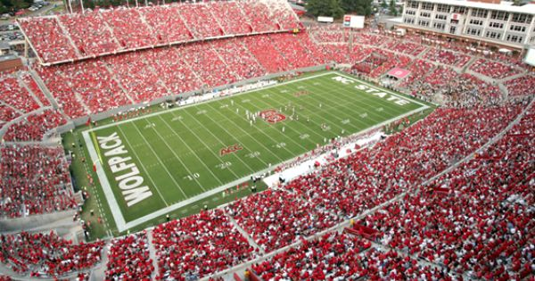 N C State Carter Finley Stadium Nc State Basketball Nc State