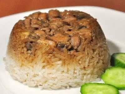 Nasi Tim Berikut Ini Ada Cara Membuat Video Resep Nasi Tim Ayam Jamur Hioko Kampung Pakai Rice Cooker Ncc Ala Sajian Sed Baby Food Recipes Food Receipes Food