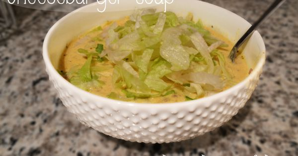 Cheeseburger Soup Recipe via Diners Drive-ins and Dives | Food ...