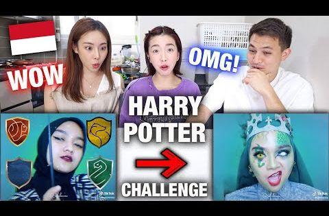 Reaksi Aktris Korea Nonton Tiktok Viral Harry Potter Indonesia 1 Youtube Harry Potter Aktris Korea Aktris