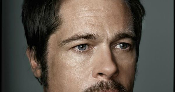 Brad Pitt by Dan Winters | photography portrait editorial photoshoot