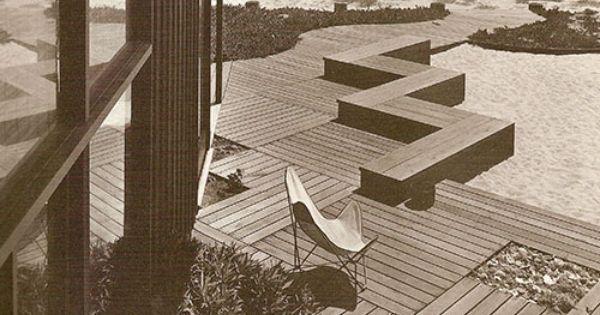 Thomas Church Design For Martin Beach House 1948 Deck