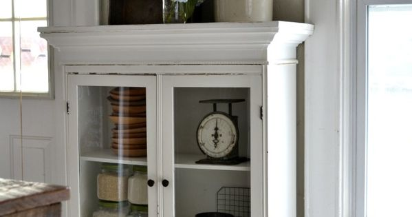 Texas Decor Rearranging The Tops Of My Kitchen Cabinets: Our Vintage Home Love: Cabinet Style Flanking The