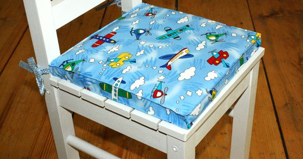 bildern hkurs nr 7 sitzkissen f r ein ikea kinderstuhl 26. Black Bedroom Furniture Sets. Home Design Ideas