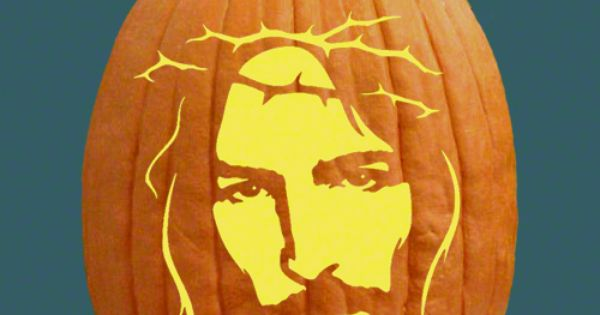 jesus-ween  Im amused  Pinterest  Pumpkins, Carving and Pumpkin ...