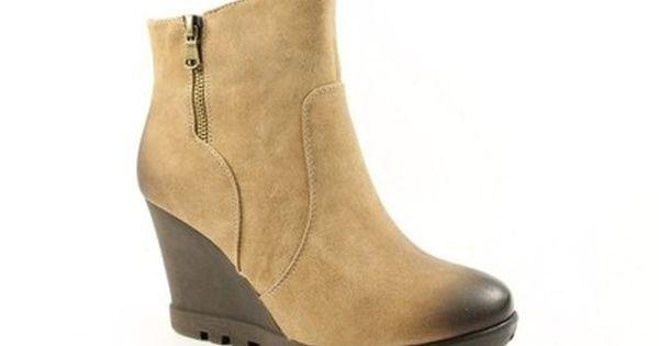 Daszynski Botki Sa25 20 R 37 6822530164 Oficjalne Archiwum Allegro Boots Shoes Wedge Boot