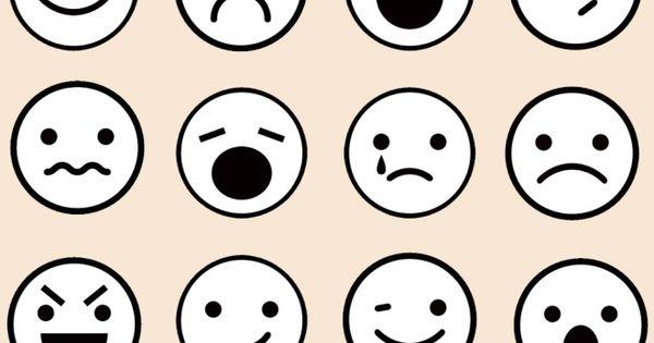 Recursos Para Mi Clase NiÑos Distintas Razas Ficha: Dibujos De Caras De Emociones Para Colorear Con Los Niños