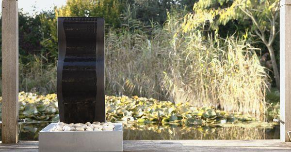 Cette l gante fontaine r alis e par leroy merlin est la for Fontaine de jardin leroy merlin