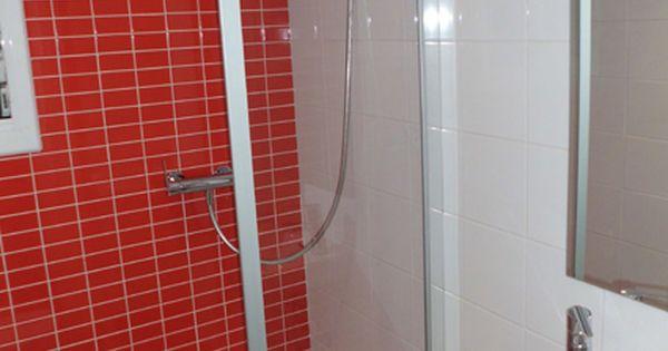 Reforma de ba o y aseo combinaci n paredes en dos colores - Combinacion de colores para paredes de banos ...