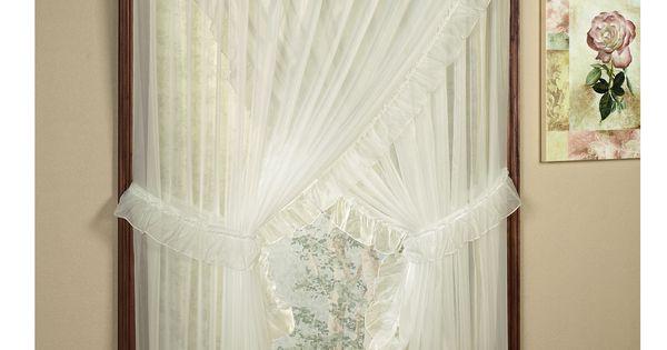 jessica ninon ruffled wide priscilla curtains priscilla