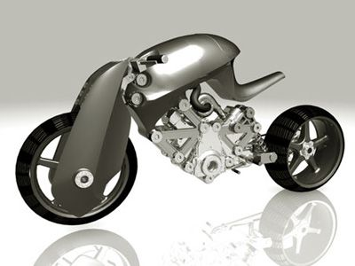 Top 10 Futuristic Concept Bike Designs Page 5 Of 5 Futuristic