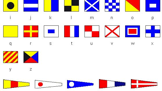signal flags meanings