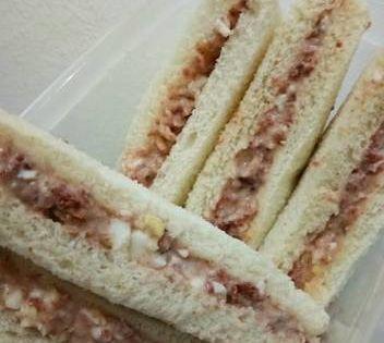 Resep Sandwich Kornet Telor Sederhana Oleh Dea Agustin