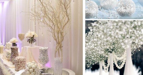 Déco table mariage dhiver - 30 idées magnifiques et élégantes ...