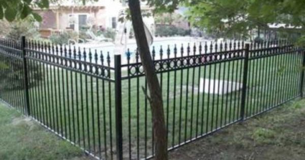 Iron Fence For Front Yard