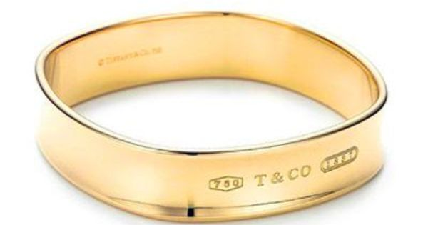 Gold Tiffany bangle