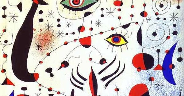 Joan miro surrealism inner workings of mind like for Joan miro interieur hollandais