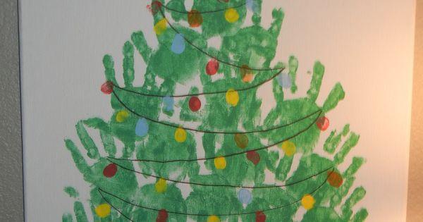 weihnachtsbaum gemeinschaftsbild handabdr cke m dchen ag. Black Bedroom Furniture Sets. Home Design Ideas