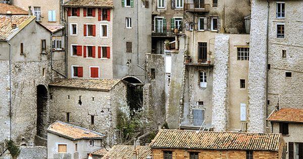 Sisteron, Alpes de Hte Provence, France