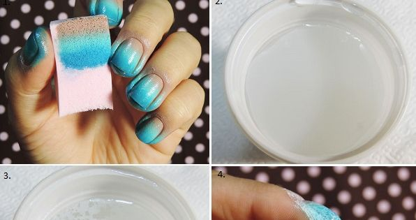 Beach Waves Inspired Nail Art Tutorial. YES YES I WANT THESE NAILS!