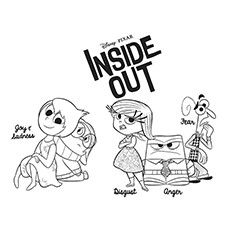 10 Adorable Inside Out Coloring Pages For Your Little One Coloring Pages Inside Out Coloring Pages Kids Coloring Books