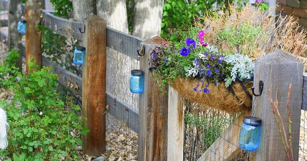 Solar lights are inexpensive and really beautiful in the garden. Here'… ::