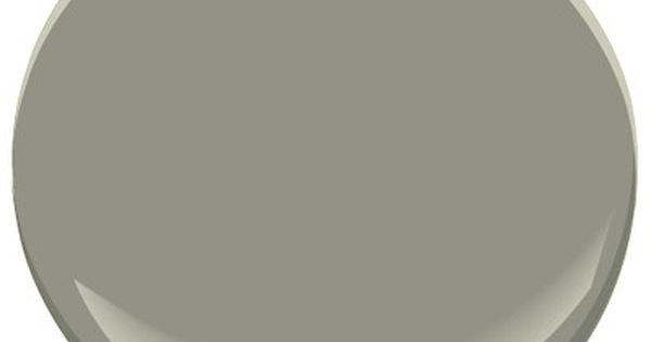 Benjamin Moore Storm Cloud Gray A Darker Gray Green Paint Colors Pinterest Paint Colors