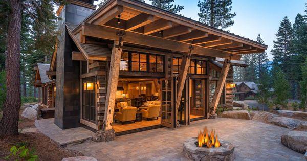 Rustic thunderbird 8307 thunderbird circle martis camp the outside world pinterest cabin - Ideas casas de campo ...