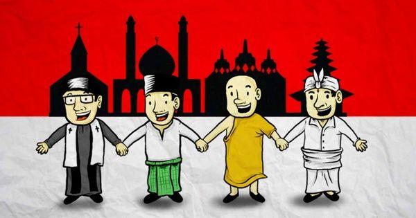 Pengamalan Nilai Nilai Pancasila Sila 1 Dan 2 Kelompok 5 Agama Indonesia Animasi