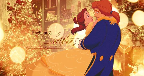 Disney Beauty and The Beast - Enchanted Christmas wallpaper