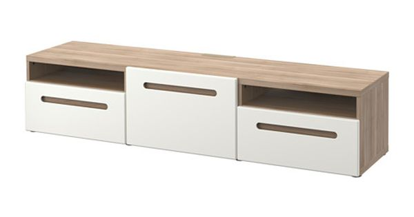 Fj lkinge tag re avec tiroirs blanc glissiere tiroir - Glissiere tiroir cuisine ...