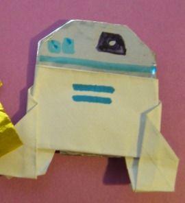 C3PO Instux | Origami Yoda | 296x270