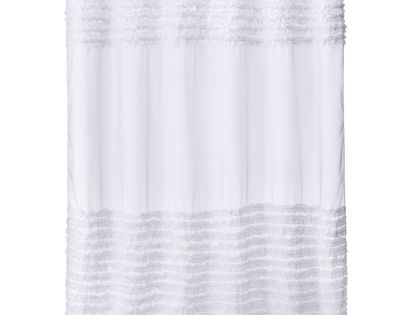 Curtain white ruffle shower curtains shower curtains and curtains