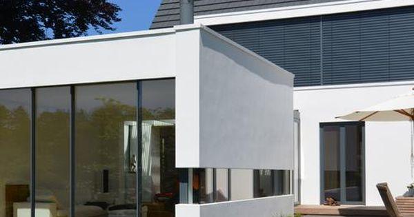 anbau mit neuer terrasse satteldach anbau und wohnhaus. Black Bedroom Furniture Sets. Home Design Ideas