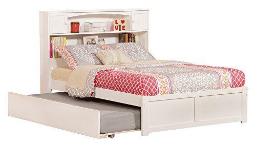 Atlantic Furniture Newport Flat Panel Foot Board With Urban Trundle Bed Full White Atlantic Furniture Http Ww Atlantic Furniture Bed With Drawers Furniture