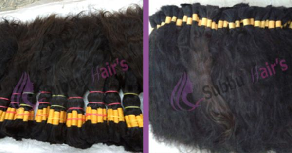 Reliable virgin hair distributors in India, it is top quality hair ...