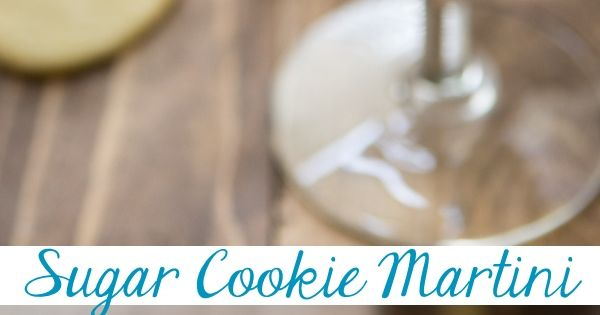This Sugar Cookie Martini is the perfect signature dessert cocktail for any