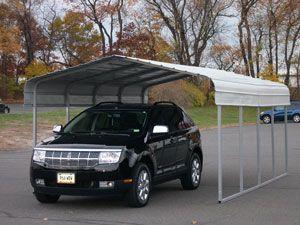 Steel Carport 12 X 20 X 8 Steel Carports Plastic Sheds Metal Shed