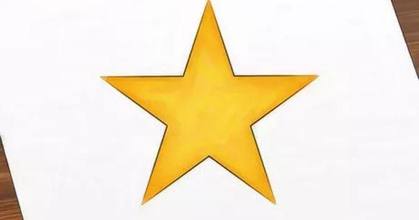 Cómo Dibujar Una Estrella Star Stencil Flag Drawing Stars