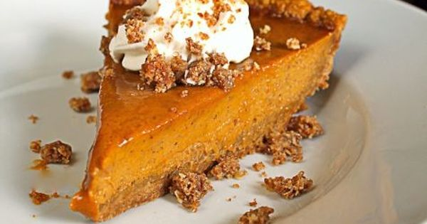 Pumpkin pies, Crunches and Pumpkins on Pinterest