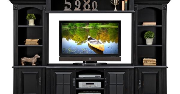 Amherst ii entertainment wall units collection furniture for Value city furniture amherst